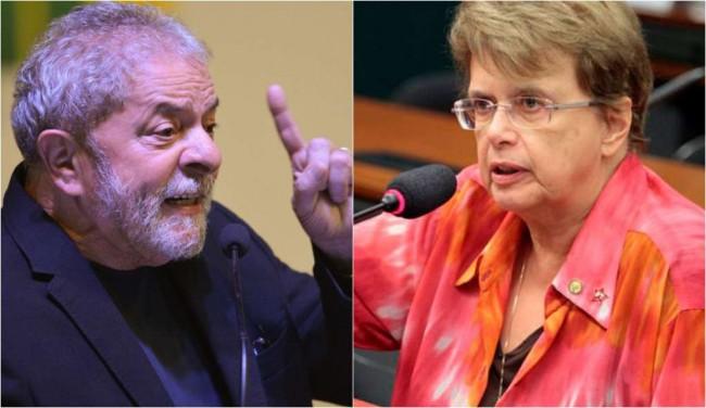 Lula e Margarida Salomão, prefeita de Juiz de Fora - Fotomontagem
