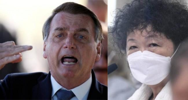 Jair Bolsonaro e Nise Yamaguchi - Foto: Reprodução; Jefferson Rudy/Agência Senado