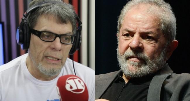 Roger Moreira e Lula - Foto: Reprodução/JP; Agência Brasil