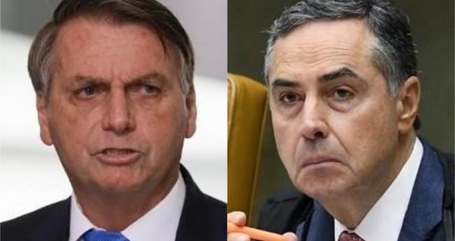 Jair Bolsonaro e Luis Roberto (Reprodução)