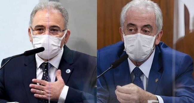 Marcelo Queiroga e Otto Alencar - Foto: Reprodução