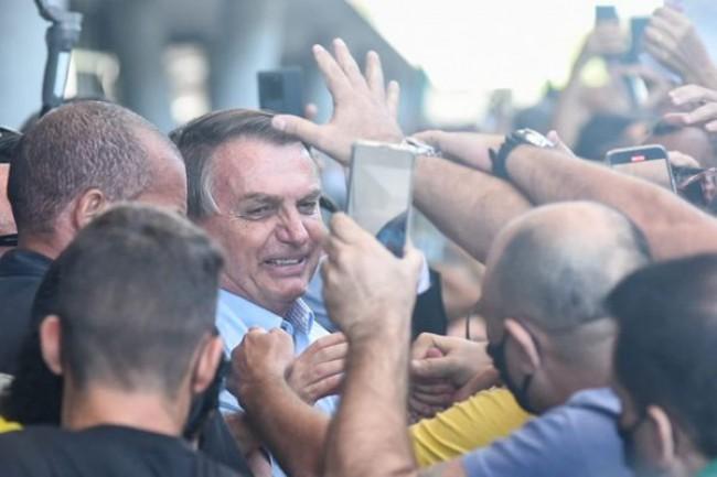 Jair Bolsonaro no Espírito Santo - Foto: Vitor Jubini