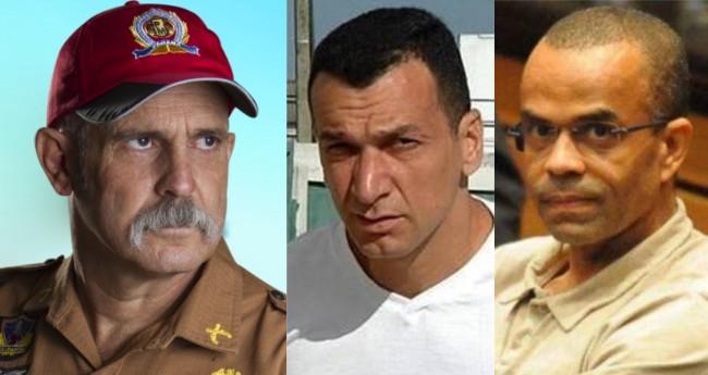 Sargento Fahur, Marcola e Fernandinho Beira-Mar - Foto: Reprodução