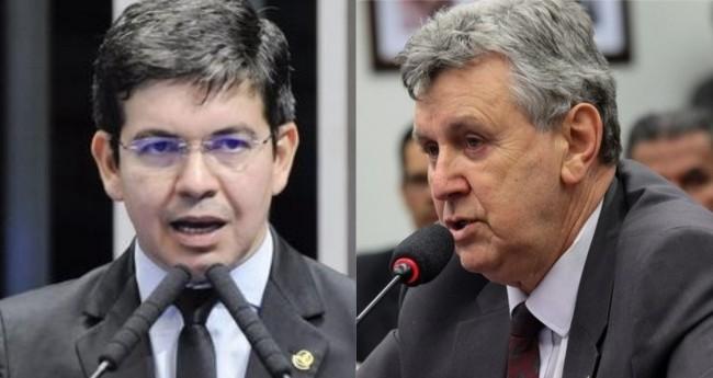 Randolfe Rodrigues e Luis Carlos Heinze - Foto: Senado