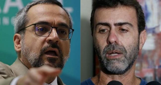 Abraham Weintraub e Marcelo Freixo - Foto: Reprodução