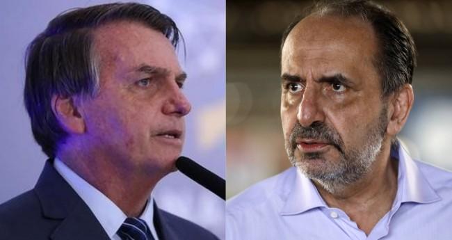Jair Bolsonaro e Alexandre Kalil - Foto: Reprodução