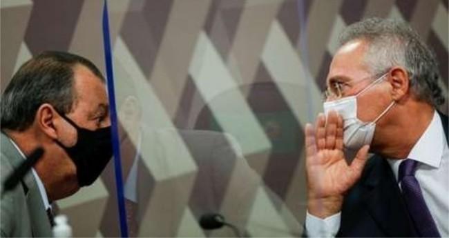 Omar Aziz e Renan Calheiros - Foto: Reprodução