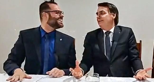 Jorge Seif Júnior e Jair Bolsonaro - Foto: Reprodução/Facebook