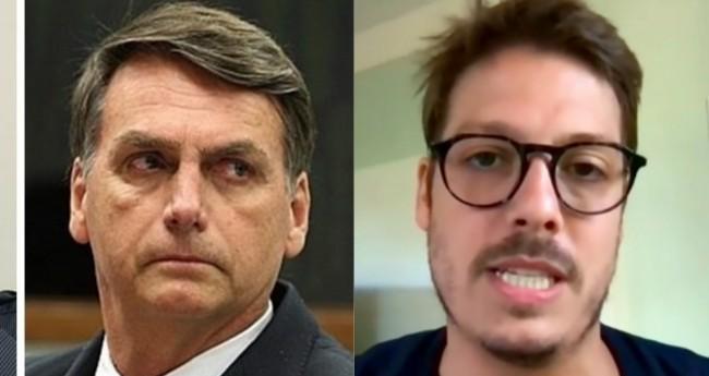 Jair Bolsonaro e Fábio Porchat - Foto: Reprodução