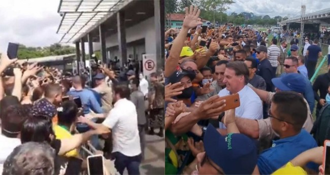 Jair Bolsonaro no Pará - Foto: Reprodução