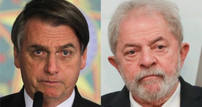 Jair Bolsonaro e Lula - Foto: Reprodução