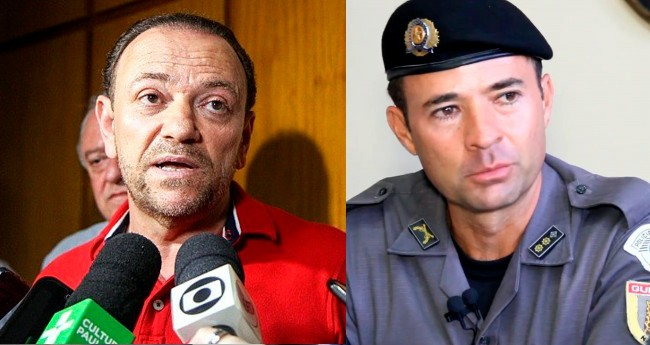 Edinho Silva e Coronel Mello Araujo - Foto: Reproodução