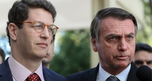 Jair Bolsonaro e Ricardo Salles - Foto: Marcos Corrêa/PR
