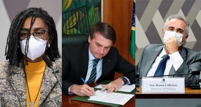 Fotomontagem: Foto: Jefferson Rudy / Agência Senado / PR