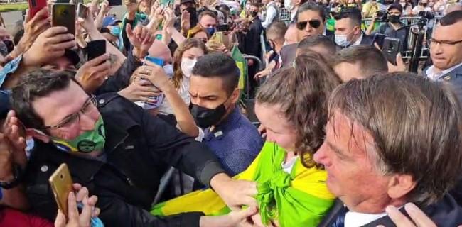 Jair Bolsonaro em Sorocaba (SP) - Foto: Reprodução