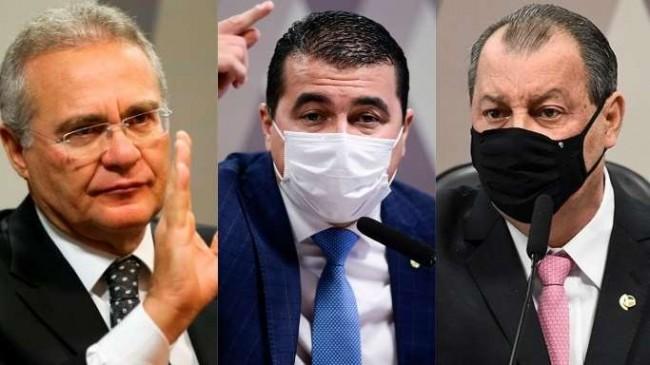Fotomontagem: Marcelo Camargo/Agência Brasil - Pedro França/Agência Senado - Jefferson Rudy/Agência Senado