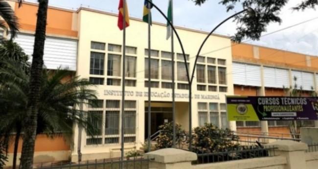 Instituto de Educação Estadual de Maringá - Foto: Divulgação/IEEM