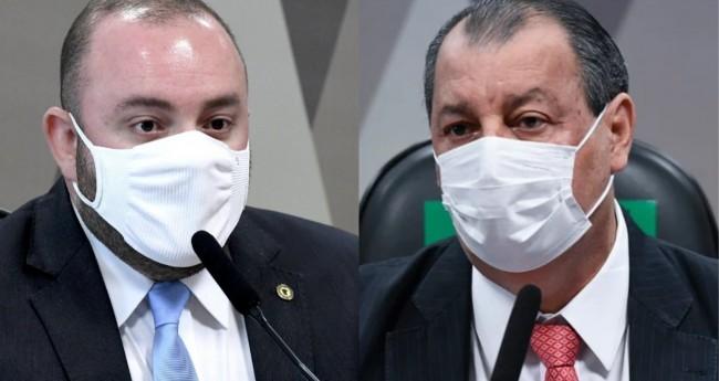 Fausto Júnior e Omar Aziz - Foto: Reprodução