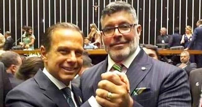 João Doria e Alexandre Frota - Foto: Reprodução
