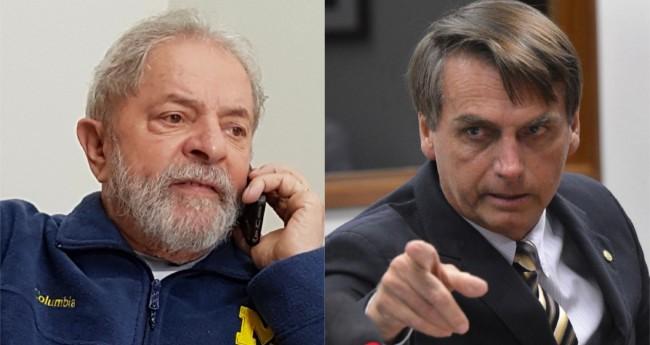 Lula e Jair Bolsonaro - Foto: Ricardo Stuckert/Instituto Lula; Wilson Dias/Agência Brasil