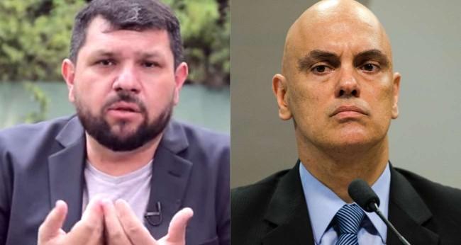 Oswaldo Eustáquio e Alexandre de Moraes - Foto: Reprodução