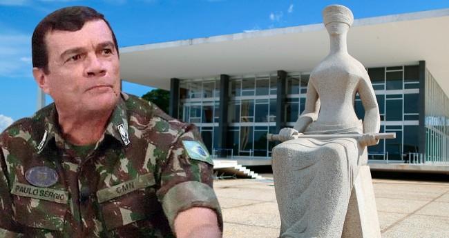Fotomontagem: General Paulo Sérgio (Reprodução)