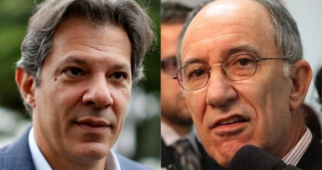 Fernando Haddad e Rui Falcão - Foto: PT; Reprodução