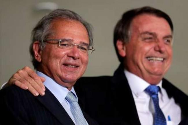 Brasil a todo vapor com Bolsonaro e Guedes - Reprodução internet