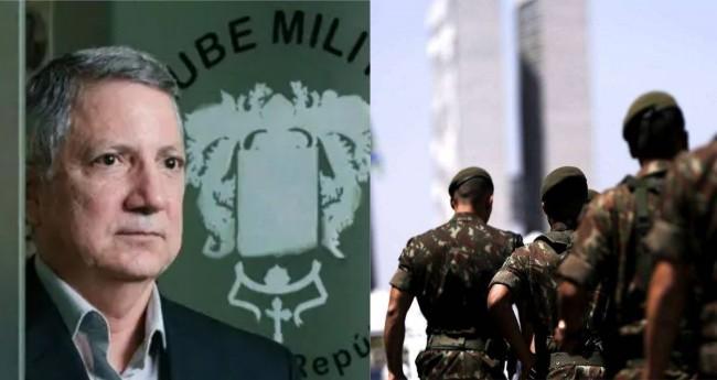 Fotomontagem: Reprodução Clube Militar / Ministério da Defesa