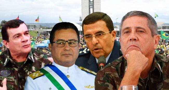 Comandantes das Forças Armadas - Foto: Reprodução