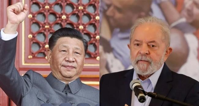 Xi Jinping e Lula - Foto: Reprodução