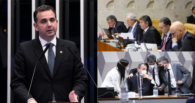 Fotomontagem - Foto: Agência Senado / STF