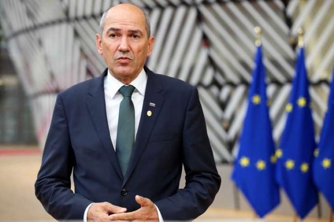 O conservador Janez Jansa assumiu o cargo de presidente da União Europeia - Reprodução internet
