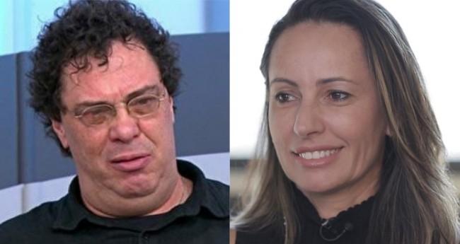Walter Casagrande e Ana Paula Henkel - Foto: Reprodução