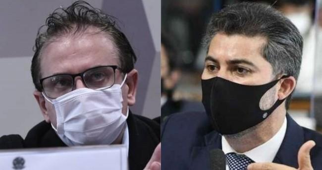 Cristiano Carvalho e Marcos Rogério - Foto: Edilson Rodrigues/Agência Senado; Senado Federal