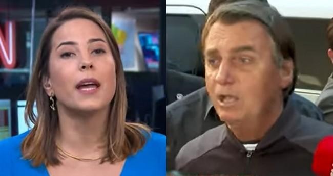 Priscila Yazbek e Jair Bolsonaro - Foto: Reprodução