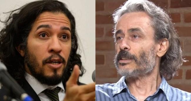 Jean Wyllys e Guilherme Fiuza - Foto: Wilson Dias/Agência Brasil; Reprodução