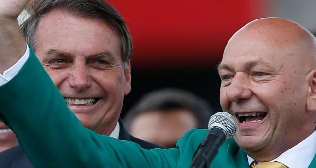 Jair Bolsonaro e Luciano Hang - Foto: Reprodução