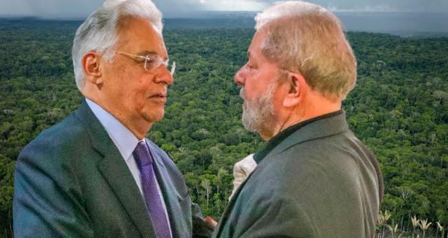 Foto: Ricardo Stuckert/Instituto Lula; Reprodução