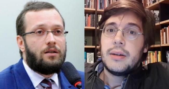 Filipe Barros e Joel Pinheiro - Foto: Agência Câmara; Reprodução