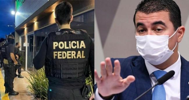 Luis Miranda - Foto: Jefferson Rudy/Agência Senado; Reprodução/PF