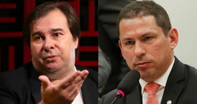 Rodrigo Maia e Marcelo Ramos - Foto: Reprodução