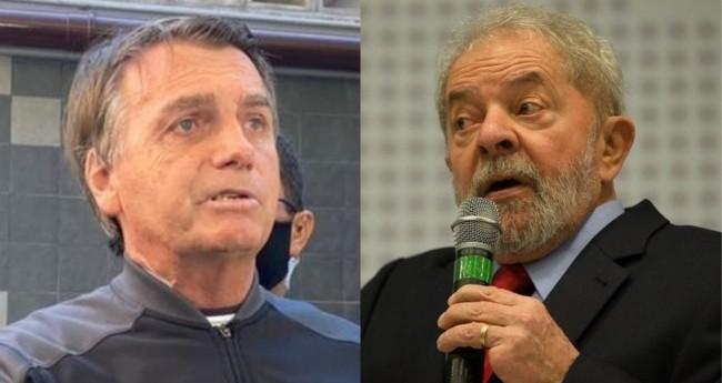 Jair Bolsonaro e Lula - Foto: Annie Zanetti/TV Brasil; Reprodução