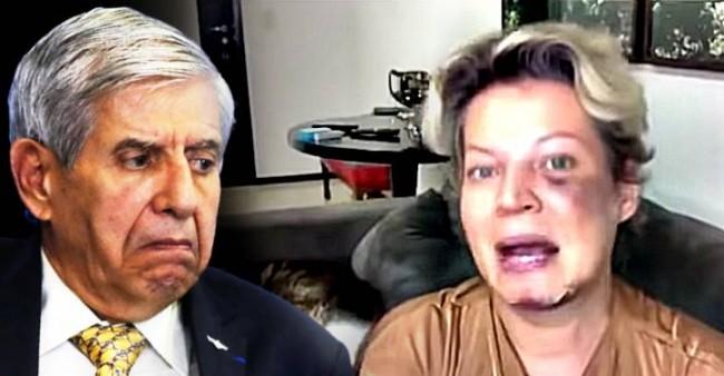 General Augusto Heleno e Joice Hasselmann - Foto: Reprodução