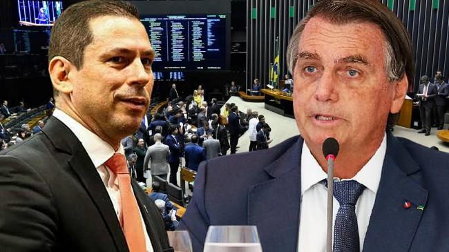 Marcelo Ramos e Jair Bolsonaro - Foto: Reprodução
