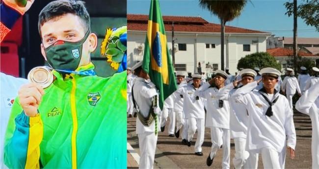 Fotomontagem - Foto: Internet / Marinha do Brasil