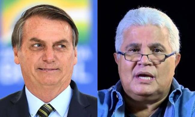 Jair Bolsonaro e Ricardo Noblat - Foto: Reprodução