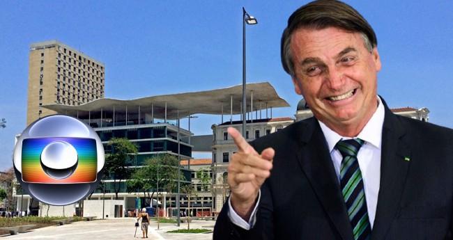 Jair Bolsonaro; Fundação Roberto Marinho - Foto: Reprodução