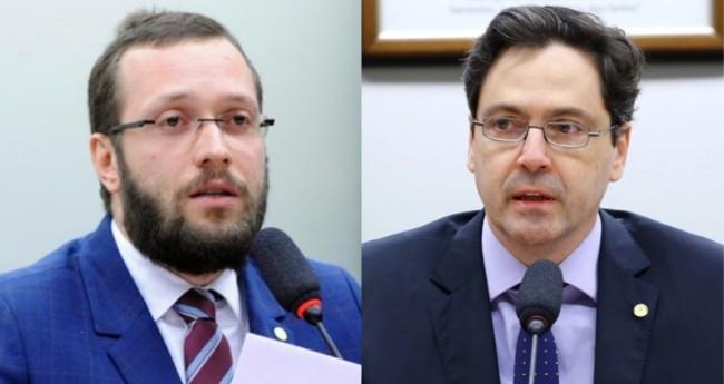 Filipe Barros e Luiz Philippe de Orleans e Bragança - Foto: Agência Câmara