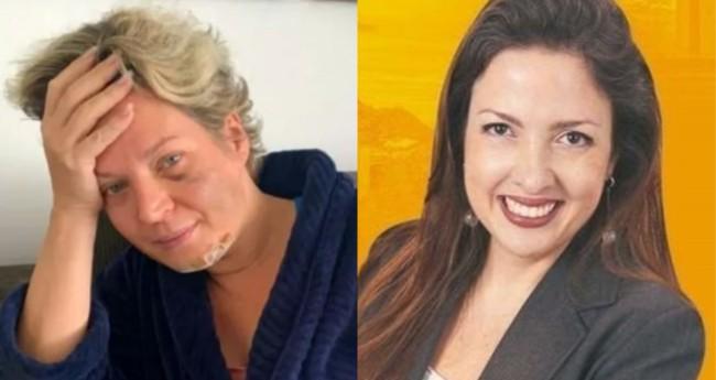 Joice Hasselmann e Rosanne Garcia - Foto: Reprodução